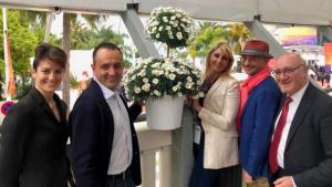 piante e fiori RB PLant di Albenga al festival del Cinema di Cannes con Genova Liguria Film Commission
