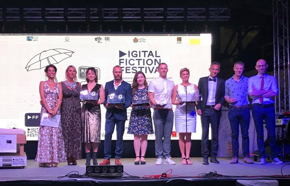 The first Digital Fiction Festival winners